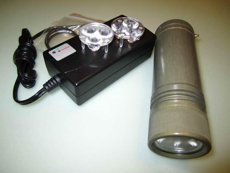 Как сделать фонарь для подводной охоты