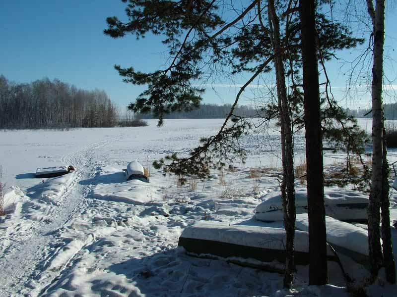 Увильды зима