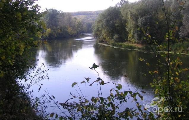 Река Северский Донец.