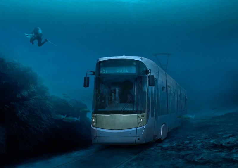 Подводный трамвай