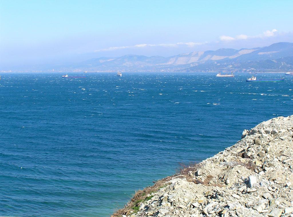 Вид на Цемесскую бухту с мыса Дооб