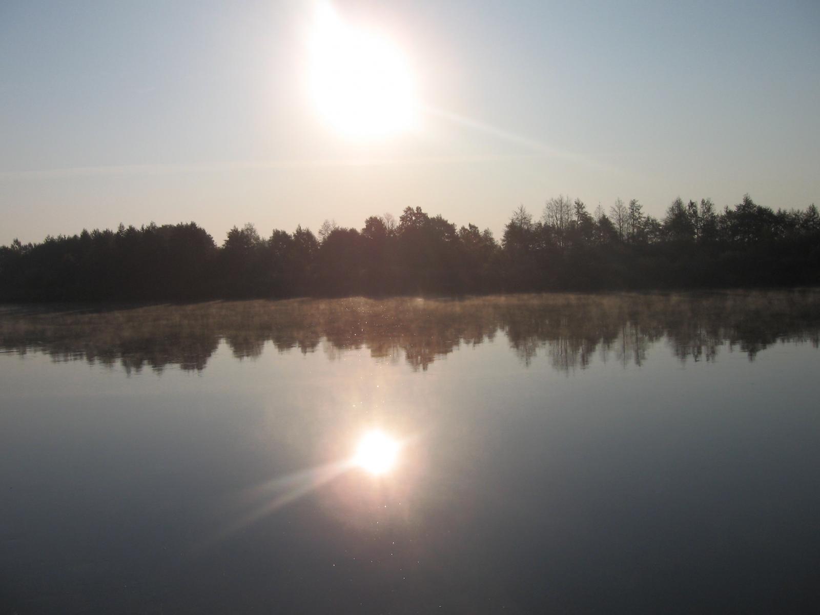 река Неман осень