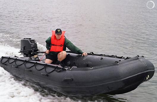 Военная версия лодок Зодиак