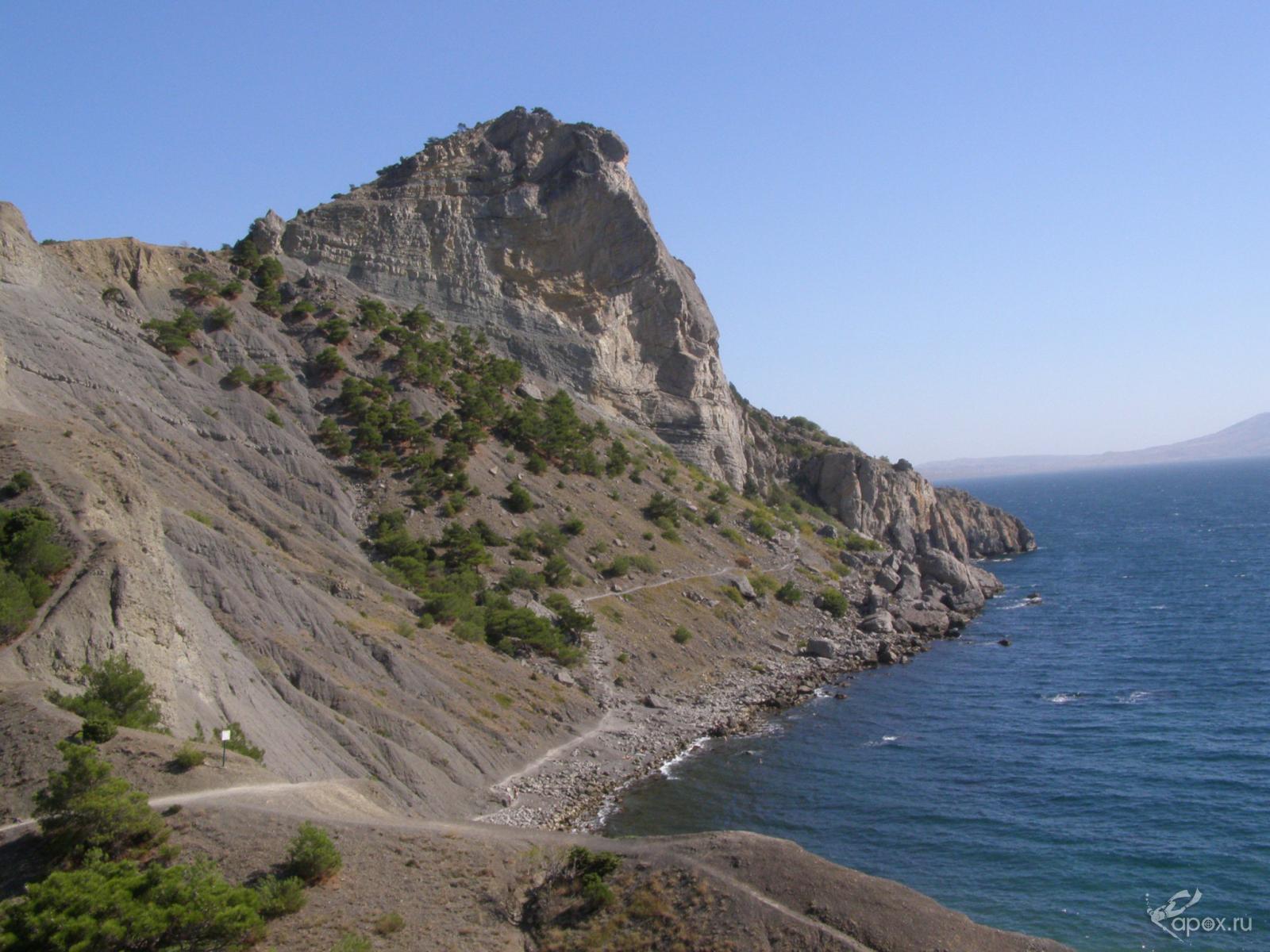 Крым, скалы.