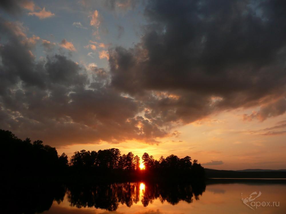 Закат Большой Теренкуль
