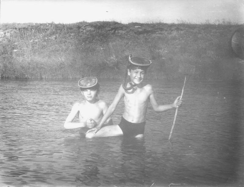 Первые шаги в воду
