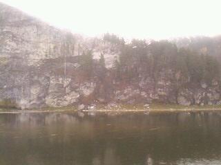 река Белая...