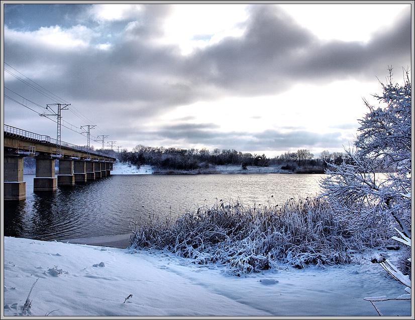 Голубой снег или Зима пришла? (2)