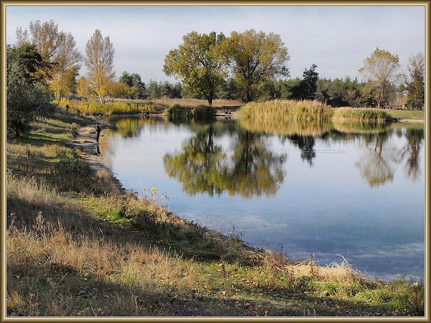 Парковое озеро(6)