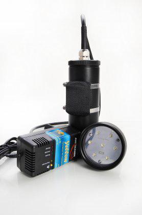 подводный фонарь LED 2500 video