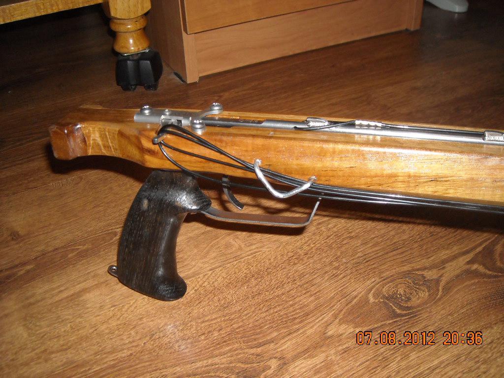 Сделать подводное ружье в домашних условиях 207