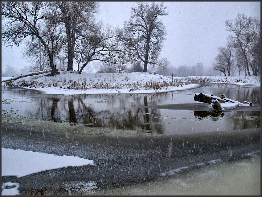 Шел снежок (1)
