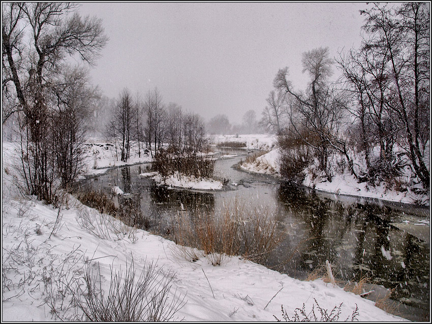 Шел снежок (4)