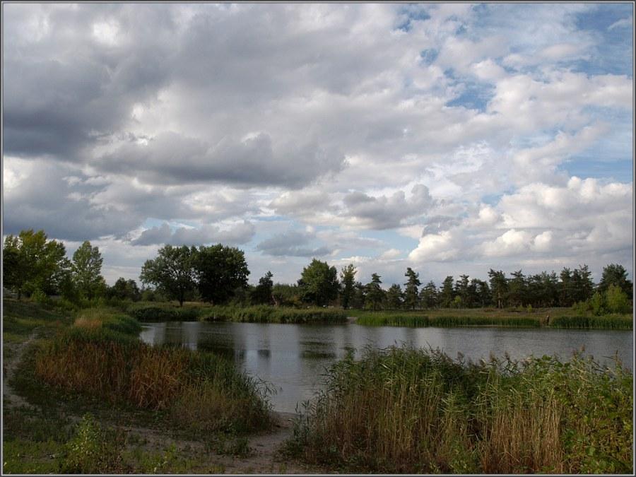 Парковое озеро, г. Севердонецк, Украина