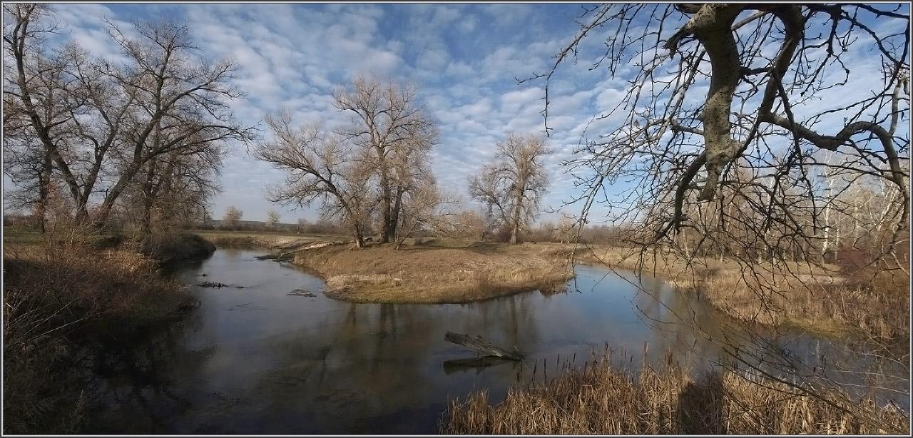 река Боровая, недалеко от  г. Севердонецка, Украина