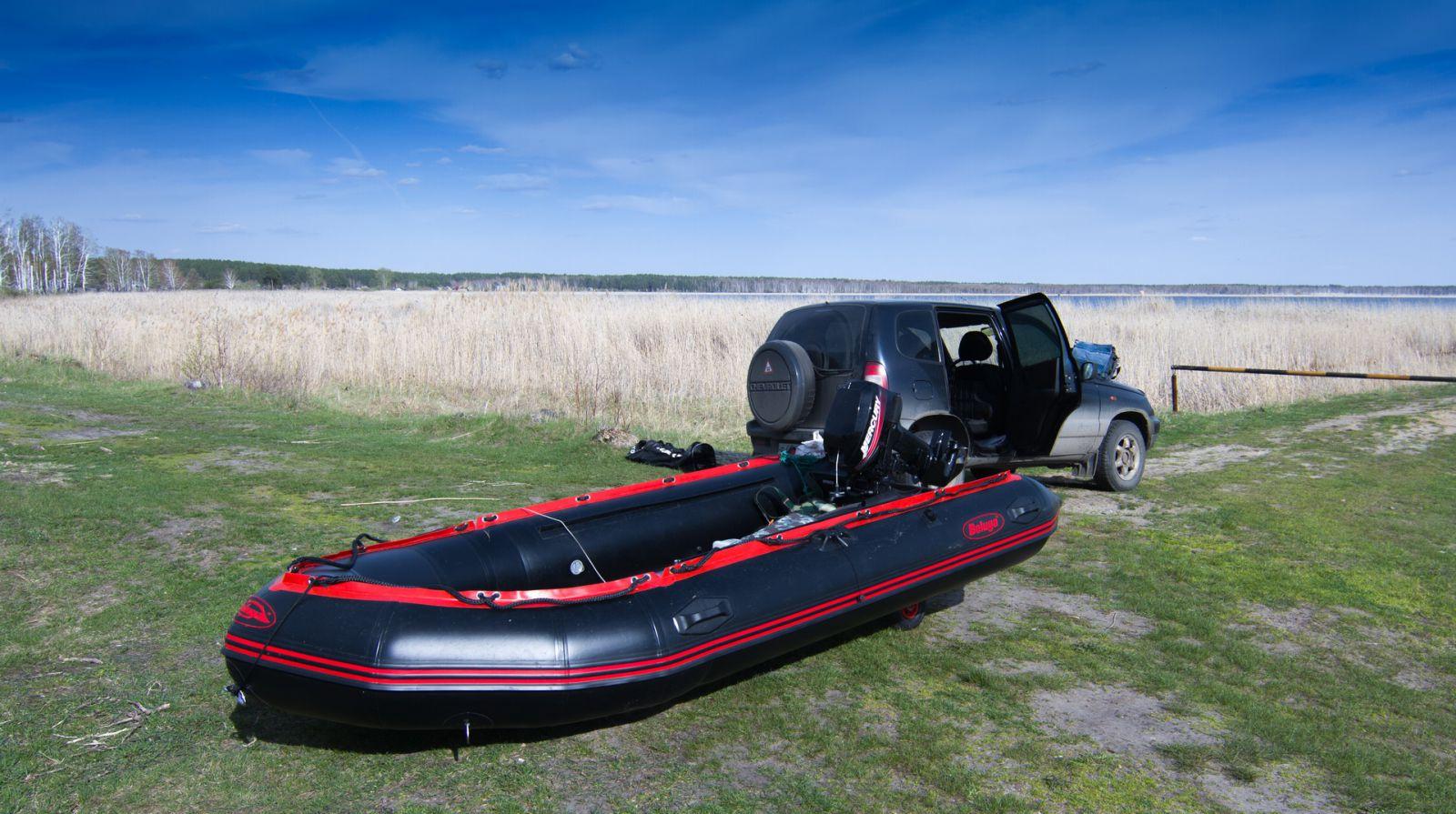лодка белуга-380 pro