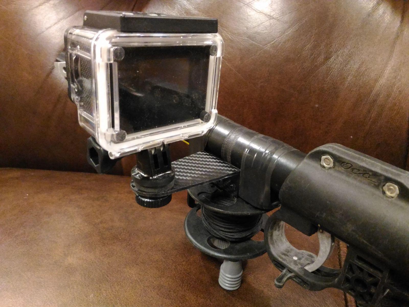 Крепление камеры на Осу 500
